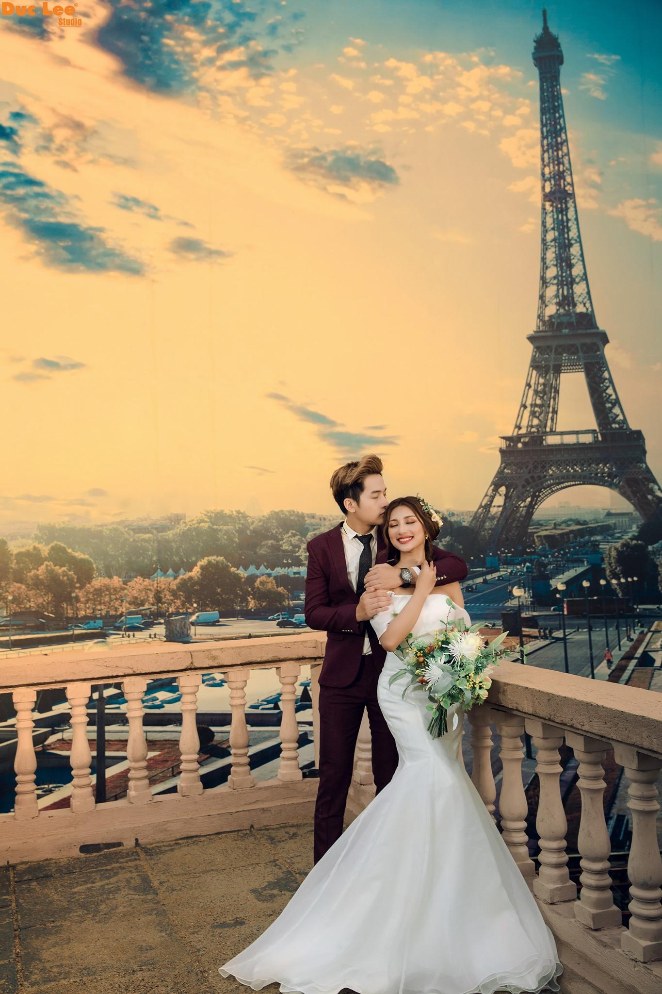 Ảnh Cưới Đẹp Phim Trường Paris