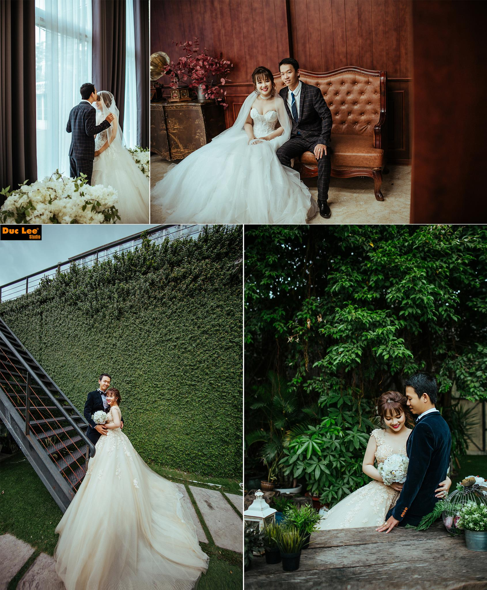 Ảnh cưới đẹp phim trường en dee